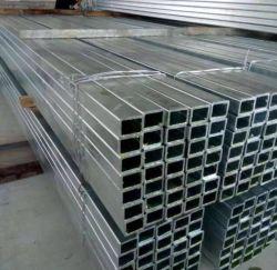 Q235B Q355b buis met vierkante en rechthoekige buisconstructie met hollage sectie Gegalvaniseerde stalen pijp dikke wandpijp Constructiestructuur