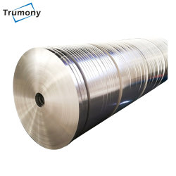 Striscia di alluminio doppia per scambiatore di calore dell'olio e riscaldatore