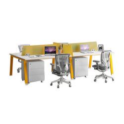 Moderner Büro-Möbel-Arbeitsplatz-Executivcomputer-Schreibtisch mit Untersatz/Schrank (STDK1004-12)