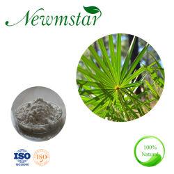 Saw Palmetto naturel extrait de la poudre de 25 % des acides gras