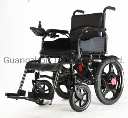 가장 싼 불리한 신체 장애자를 위한 폴딩에 의하여 자동화되는 자동적인 힘 전자 휠체어