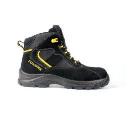 Защитная обувь Professional удобная Высокая посадка обувь против пункции Маслостойкий обувь со стальным носком (SN6196)