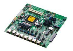 China Fabricante 1U para montagem em rack de placa para servidor com 6 LAN