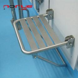 Badkamer opvouwbare douche stoel stoel aan de wand gemonteerd roestvrij staal