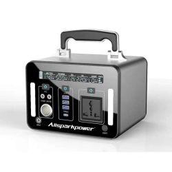 Batterie rechargeable Batterie LiFePO4 500W 1kw 2 Kw 3kw Puissance solaire portable banque avec voyant LED