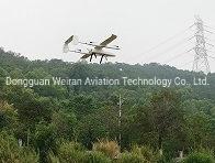 Il nuovo verticale toglie il ronzio dell'ala fissa toglie 23kg; /Vertical toglie l'aereo del Uav dell'ala fissa