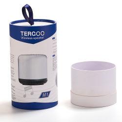Personnalisé imprimé un plateau thé/shampoing de luxe/vin/T-Shirt/collations des tubes de carton de papier Round Boîtes en carton Emballage peut