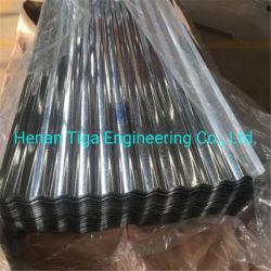 Bhushan Bwg28の熱い浸された電流を通された波形の鋼鉄鉄の屋根ふきシート