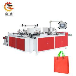 Fábrica de Wenzhou Zhongxin bucle suave de manejar la bolsa de plástico que hace la máquina
