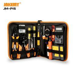 """مجموعة أدوات إصلاح الشبكات من النوع """"جاكمي 17"""" في 1 من تعليمات إصلاح الشبكات بالنسبة إلى الكهربائيين الذين لديهم مقياس متعدد ذو عدة حديدية"""