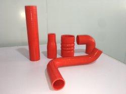 Médico vermelho de borracha de silicone borracha de silicone flexível do tubo de silicone da mangueira do tubo de borracha