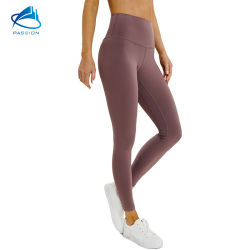 Mesdames extensible imprimé de gradient de sports d'entraînement de jogging Marche Salle de Gym Sports Wear Legging Yoga