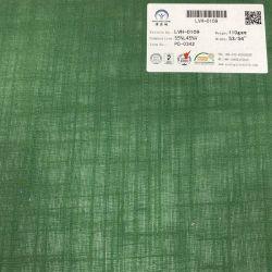 Le linge de maison de style bambou teint clair Tissu de rayonne