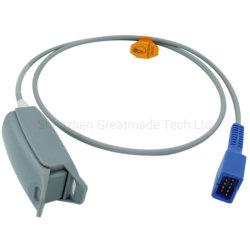 Совместимы с мониторами Nellcor N-560 N-550 N595 пульсоксиметрического для взрослых, пальцевой датчик dB9 мужской -9контакт L=1m OXIMAX Tech