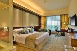 Personalizados chinês clássico em madeira moderno hotel de luxo quarto conjuntos de mobiliário (GN-HBF-06)