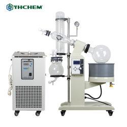 Evaporador rotativo de destilação fraccionada de vácuo Equipamentos Crystallizer de Laboratório
