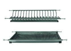 Les Racks ss201 plat en acier inoxydable de drainer des armoires de cuisine SS304