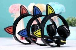 Fone de ouvido Bluetooth sem fio FM Slot para cartão SD Rádio Dobrável Jack 3,5 mm Fone de ouvido com microfone embutido6123
