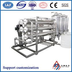 El equipo de tratamiento de agua de Osmosis Inversa de dos etapas (agua purificada) equipos equipos de purificación de agua potable de equipos de filtración de agua