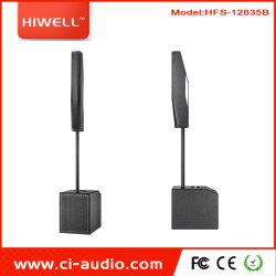Último Line array sistema de coluna de som Piscina Interior equipamento de som do altifalante.
