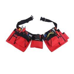 La ampliación de gruesa Correa acolchada Multi-Functinal Bolsa Bolsa de cintura cinturón de herramientas