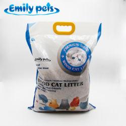 [إميلي] حيوانات أليفة حالة حبّ رمال مصنع ينتج محبوبة منتوجات صنوبر خشب فضلات القطط بالجملة