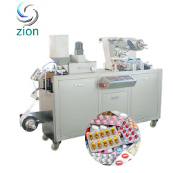 Maquinaria de envasado de productos farmacéuticos en China la tableta efervescente automática máquina de envasado Blister empaquetadora de tubo con un buen servicio y precio