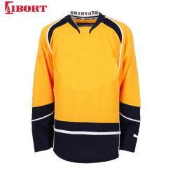 Équipe de hockey sur glace Aibort personnalisé pour la formation (hockey Jersey Jersey 027)