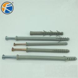 مثبت من النايلون البلاستيكي مع نايلون من مادة PP PVC PP مثبت تشغيل المطرقة