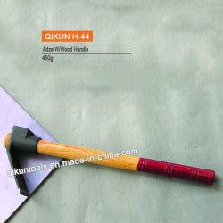 H-44 Hardware Construção ferramentas de mão dupla pintados de cores pega de madeira Adze