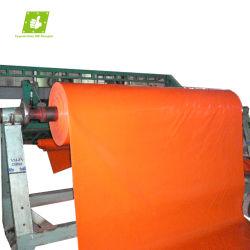 preço de fábrica à prova de fogo Retardante Flmae Lona de vinil Tecido de poliéster com revestimento de PVC