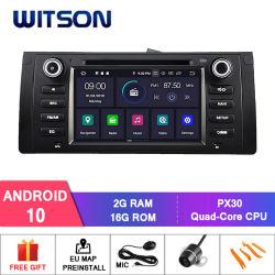 Android Quad-Core Witson 10 rádio do carro para a BMW E39 (1995-2003) /M5 (1995-2003) /X5 (2000-2007) /E53 (2000-2007) construído em 16GB eme