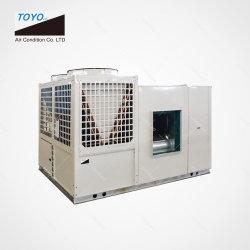 Unità impaccata tetto raffreddata aria residenziale commerciale industriale della pompa termica di HVAC del refrigeratore di acqua che raffredda liberamente il condizionatore d'aria del tetto