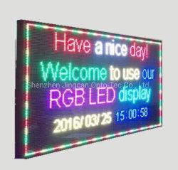 WiFi sem fio USB P8 Placa de mensagem LED programáveis exterior/ Sinal visor LED