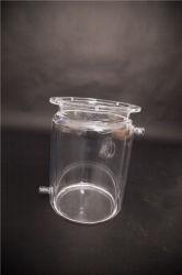 Reattore di vetro di quarzo con il collo/bocca