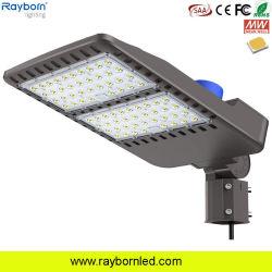 Indicatore luminoso di via registrabile esterno della strada di Shoebox di zona di illuminazione 80W 100W 120W 150W 200W 250W 300W LED del proiettore di industria con Ik09 IP66