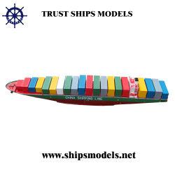 Handmade Container Ship Model