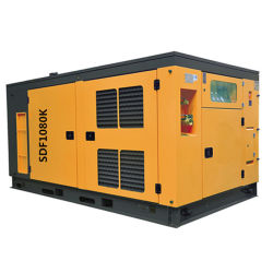 耐久性に優れた静音運転、鉱業用ポータブルエアコンプレッサ