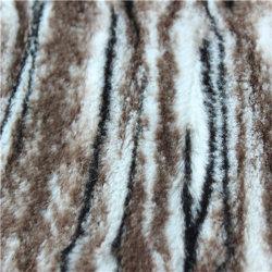 PV tissu peluche d'impression de décharge