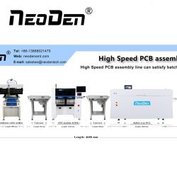 Высокая производительность для поверхностного монтажа с экрана принтера, PNP машины, SMT конвейер и печи для пайки