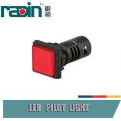 светильник печи печи пилотного света 12V 22mm СИД янтарный красный зеленый пилотный