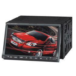 7pulgadas Baje coche reproductor de DVD con GPS, Bluetooth, iPod, TV (YZ7002)