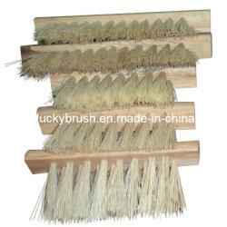 Escova de lustro material da maquinaria de Woodworking do cânhamo de sisal (YY-027)