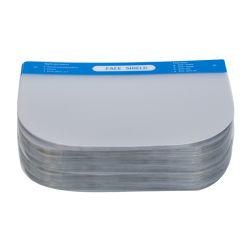 Em face dupla de moda de plástico transparente de Nevoeiro Anti viseira de impressão para protetor de rosto
