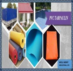 Ткань с покрытием водонепроницаемый полиэстер виниловых пиломатериалов ясно виниловых покрытие палатка тент крышка погрузчика Canvas тент из ПВХ