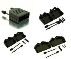 使用できる速く急なDタイプフードD-SUBのフードカバー金属のプラスチック