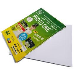 A4 Papel fotográfico brilhante 180gsm para a impressora a jato de tinta