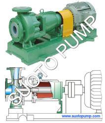 La plastica del fluoro (rivestimento di F46, di PTFE, di PFA) ha allineato la pompa di processo chimico per acido altamente corrosivo, Hci (IHF), la pompa centrifuga, la pompa di trasferimento, pompa industriale