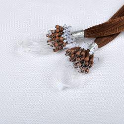 Heißer Verkaufs-Qualitäts-einfacher Regelkreis-Mikroring/Mikrolink-Haar-Extension