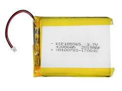 KC-zertifizierte Tasche aus wiederaufladbarem Lithium-Polymer Dtp105565 105085 3,7V 5000mAh Polymer-Akku mit PCM